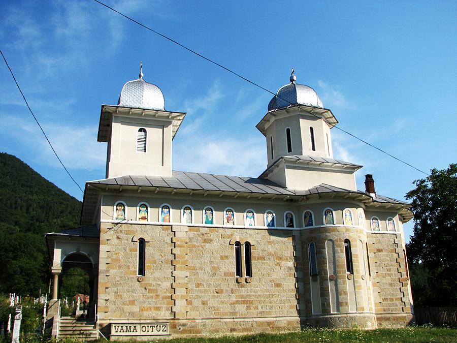 Biserica Sf Gheorghe – Harja